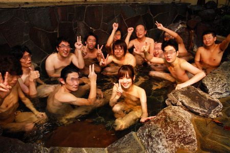 Yuu Asakura Bathhouse Fan Tour