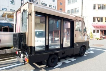 Japanese AV Magic Mirror Bus