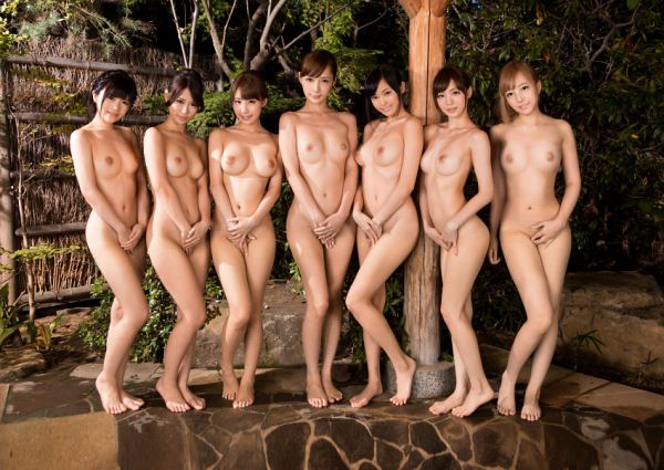 Japanese naked lineup