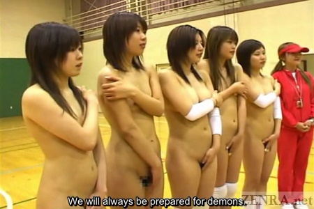 Japanese ENF nudist sports